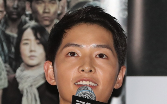 'Battleship Island' sees Song Joong-ki in another heroic role