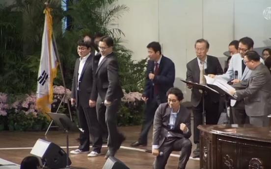 Watch nine college professors sing EXO song