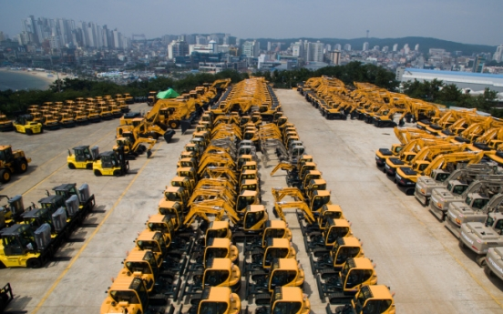 Hyundai construction lands W500b deal with CNHi