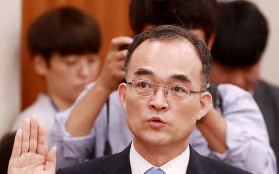 [Newsmaker] Chief prosecutor nominee vows political neutrality