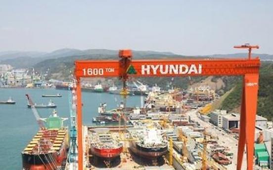 Hyundai Heavy to secure W1tr via management improvement plan