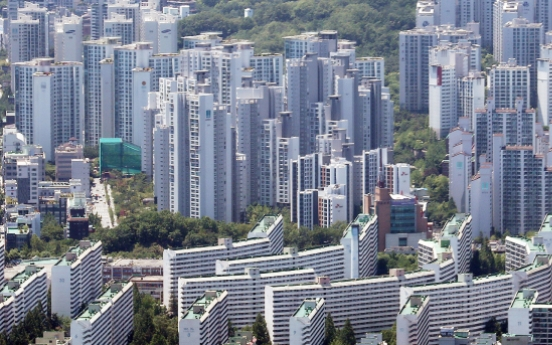 Seoul apartments exceeding W1b double in five years