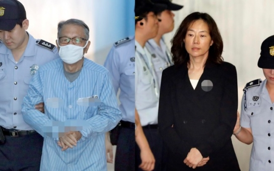 [Breaking] Former Park Geun-hye aides get jail terms for artists blacklist