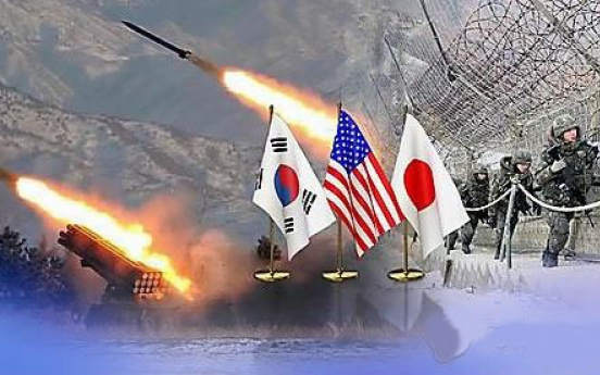 Top S. Korea, US, Japan diplomats strongly condemn NK missile launch