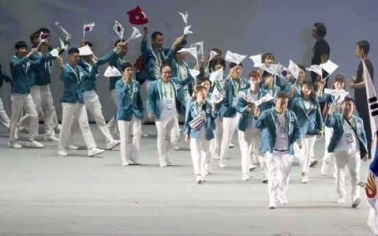 Korea sets new medals record for Deaflympics