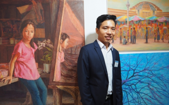 ASEAN artists unveil rainbow of colors at exhibition