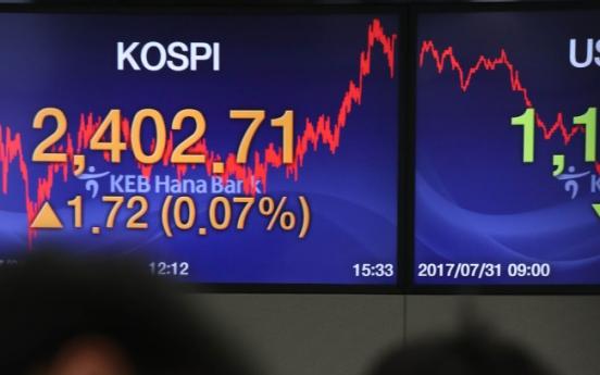 Is Korea's stock market seeing end to tech run?