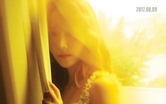 Jessica confirms Aug. 9 album release