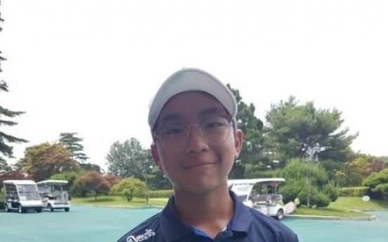 K.J. Choi's teenage son hoping to best father's career