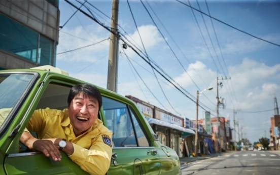'A Taxi Driver' dethrones 'The Battleship Island' on opening day