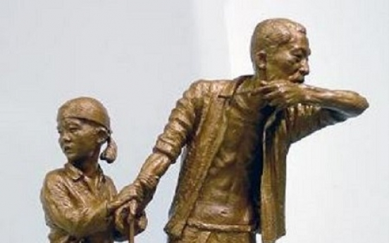 Civic group to erect statue to commemorate victims of forced labor