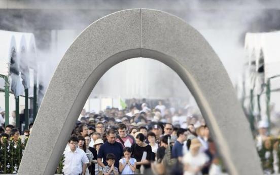 N. Korean missiles add urgency to Hiroshima A-bomb appeals