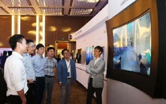 Samsung Display vows to tap deeper into curved, slim displays