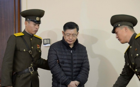 N. Korea releases imprisoned Canadian pastor on sick bail