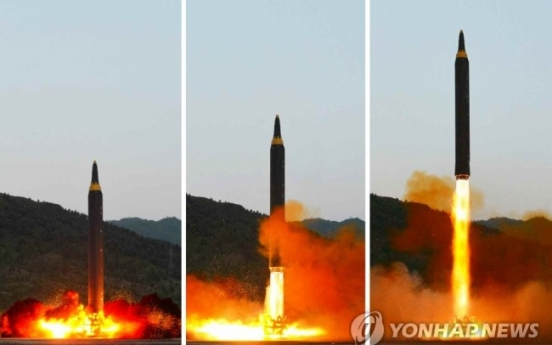 N. Korea missiles that can potentially hit Guam