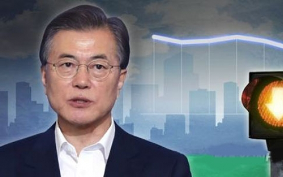 Moon's approval rating slips further amid growing tension with N. Korea