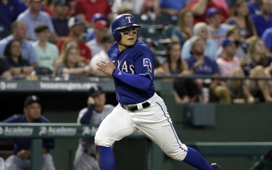 Choo reaches base 5 times, Rangers beat Mets 5-1