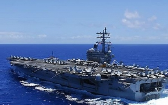 US cautious about dual-supercarrier operations near Korea