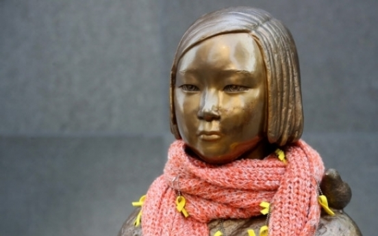 Seoul buses to carry sex slave statues in memory of victims