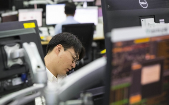 NK tension dampens stocks, currency