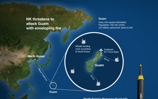 [Graphic News] North Korea's Guam attack plan