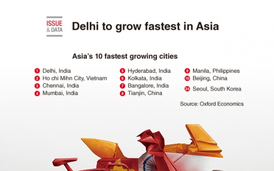 [Graphic News] Delhi to grow fastest in Asia