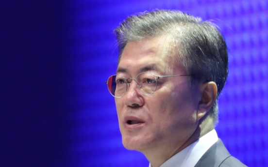 No military action without Seoul's consent: Moon