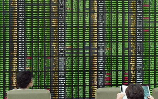 Korean shares up in late morning trading