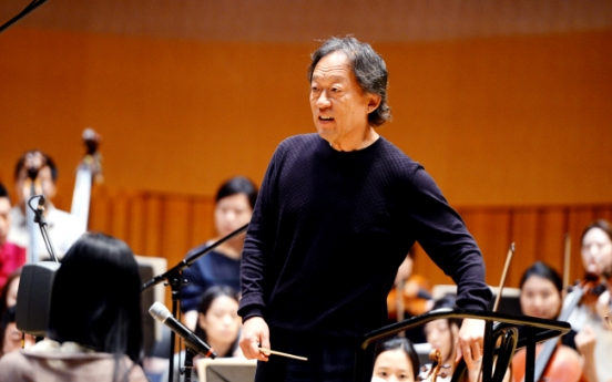 Maestro Chung Myung-whun holds on to the dream of oneness