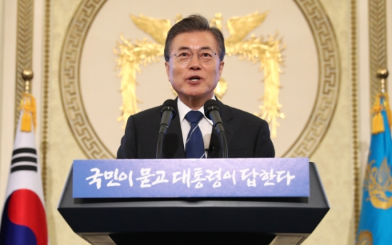 [News Focus] Moon denies tax hike plan, leaves room for possibility