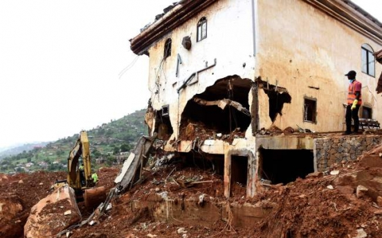 Congo landslide death toll likely 200, governor says