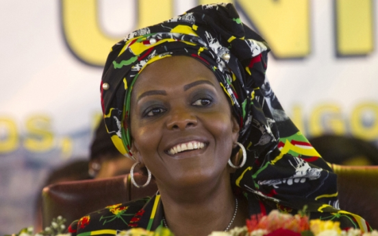 A look at Zimbabwe's first lady, who is accused of assault