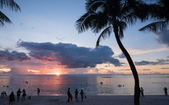 Guam official says the island is calm despite N. Korea threat