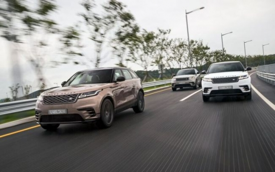 [Behind the Wheel] Range Rover Velar, SUV built for dynamic urban driving