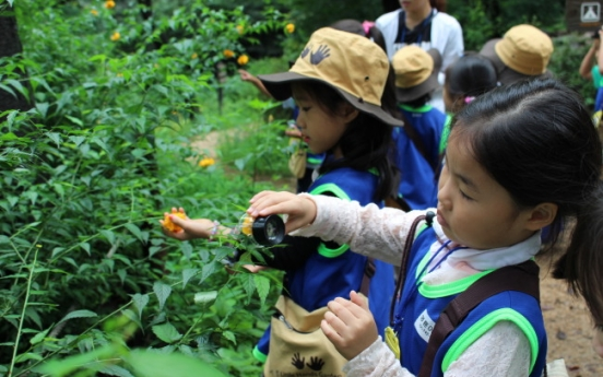 [Weekender] Kids go wild in 'infant forests'