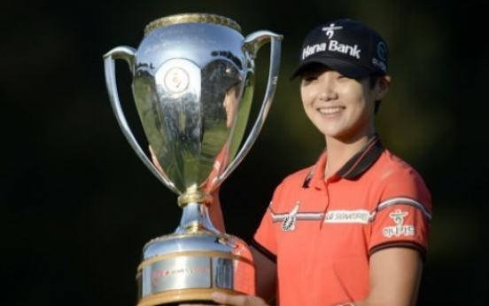 Korean rookie rallies for 2nd career LPGA win