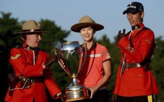 LPGA rookie phenom rides 'perfect' round to 2nd title