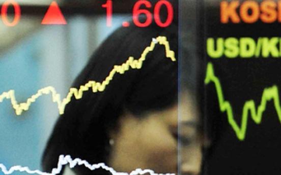 Seoul stocks snap 4-day rise on won's gain, Samsung affiliates