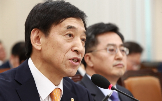 S. Korea's central bank chief heads to Switzerland for BIS meeting