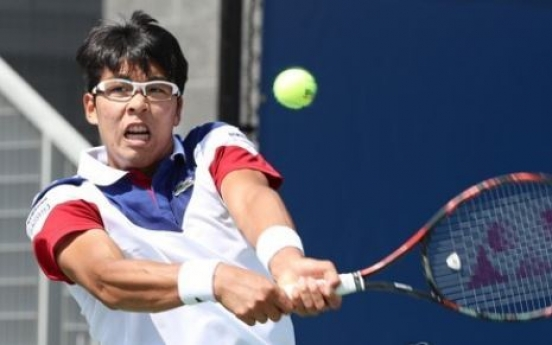 Korean tennis player Chung Hyeon advances to 2nd round at US Open