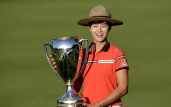 LPGA rookie sensation reaches career-high in world rankings