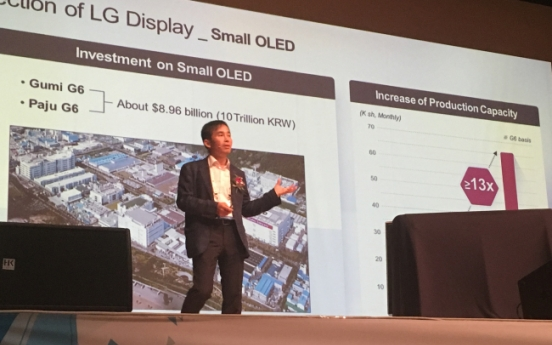[Herald Interview] 'Smartphone OLED will face oversupply by 2020'
