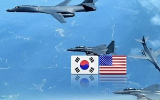US sends B-1Bs, F-35s to Korea as warning against Pyongyang