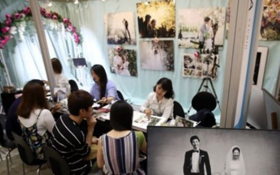 Average wedding in Korea costs W46m: survey