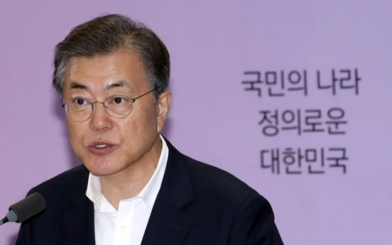 Moon to hold summits with Japan, Mongolia, Russia