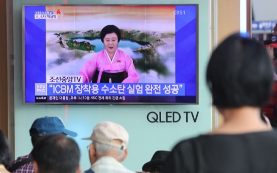 [Breaking] NK claims success in H-bomb test