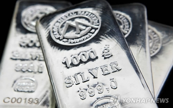 Silver bar sales rise 10-fold as middle class join flight to safety