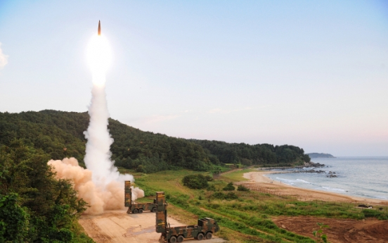 Seoul hardens line on Pyongyang, eyes powerful US arms