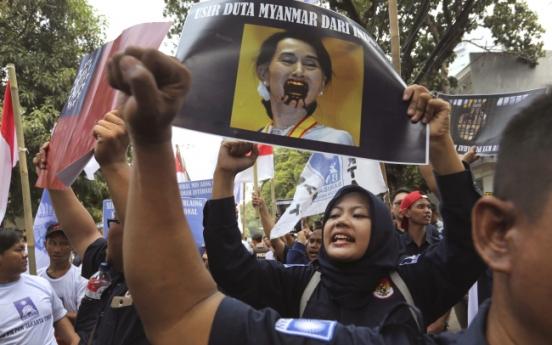 Suu Kyi and Myanmar face chorus of anger over Rohingya crisis