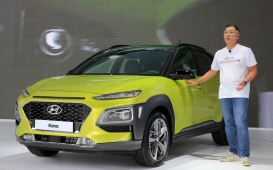 Hyundai turns to Europe to pick up lagging business